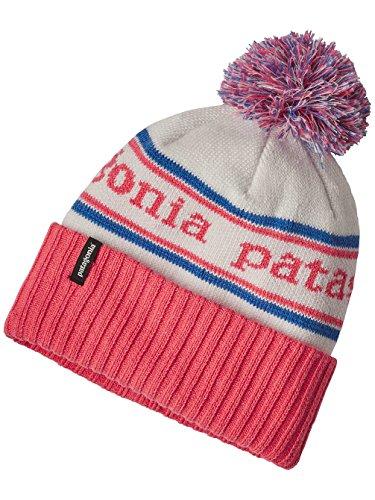 Patagonia 66061pkipall–K 's Farbe: Powder Town Beanie park stripe: Birch White w/Indy Pink Größe: All (Beanie Stripe White)