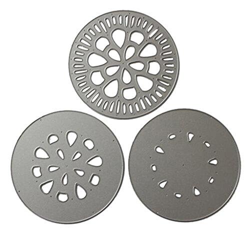 tanzformen Kreative Karten Machen und Papercrafting f¨¹r DIY Carbon Steel Silber Weihnachtsfest Geschenk ()