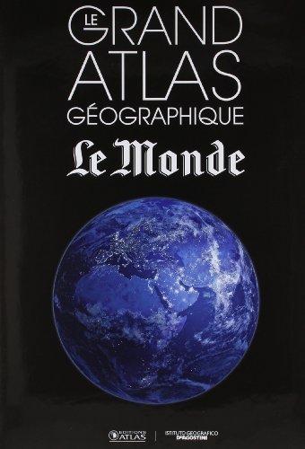 Le grand atlas géographique Le Monde 2015 de Collectif (22 octobre 2014) Relié