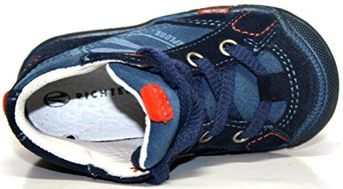 Richter Kinderschuhe , Chaussures de ville à lacets pour garçon Bleu Bleu Bleu - Blau (atla/pump/ocean 1761)