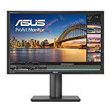 "ASUS ProArt PA248Q - Ecran PC graphisme 24,1"" - Dalle IPS - 1920x1200 - 300cd/m² - DP, HDMI, DVI, VGA, 4x USB 3.0 & 1x USB-C - 100% sRGB - △E< 5"