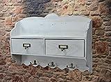 Wandregal Küchenregal Hängeregal Küchenboard Holz Shabby Landhaus antik LV1047