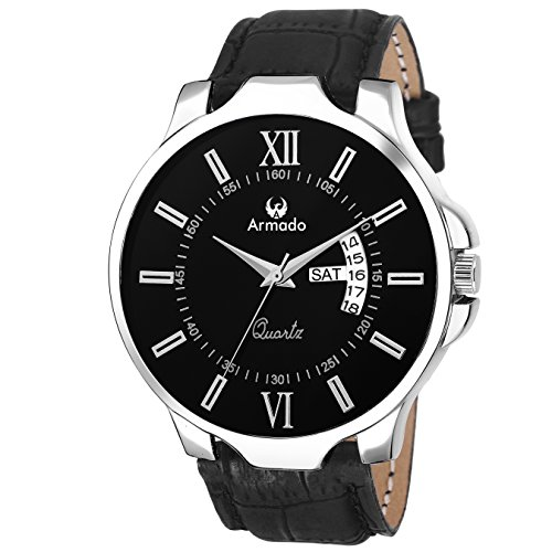Armado Analogue Black Dial Men s Watch (Ar-042-Blk) d805c56cee