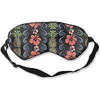 Comfortable Sleep Eyes Masks Tropical Flowers Pattern Sleeping Mask For Travelling, Night Noon Nap, Mediation... preisvergleich bei billige-tabletten.eu