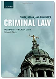 Smith, Hogan, & Ormerod\'s Criminal Law