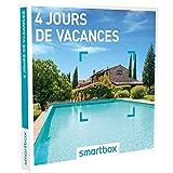 SMARTBOX - Coffret Cadeau homme femme couple - 4 jours de vacances - idée cadeau - 232 séjours : maisons d'hôtes, hôtels 3*, hôtels de charme ou bien auberges...