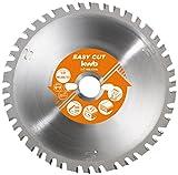 kwb EASY-CUT Allzweck-Blatt für Kappsäge und Handkreissäge, Made in Germany, Ø 250 x 30 mm, 42 Zähne