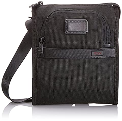 Tumi Alpha 2 Pocket Bag Small, Black (Black) - 022110