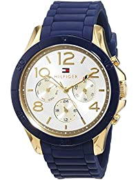 Tommy Hilfiger Damen-Armbanduhr Analog Quarz Silikon 1781523
