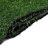 HUYYA Tapis De Pelouse Verte Artificielle, 1 Vert} pour Intérieur et Extérieur Non Toxiques (Plusieurs Tailles) 10mm Chiens Pee Pads,1x2m/3x6ft