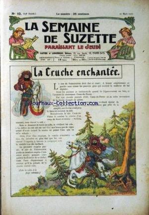 SEMAINE DE SUZETTE (LA) [No 10] du 10/03/1927 - BE...