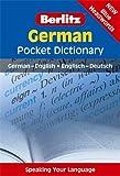 Berlitz Language: German Pocket Dictionary (Berlitz Pocket Dictionary)