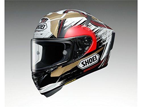 Shoei X-Spirit 3 Marquez II Motegi Motorcycle Helmet M White ()