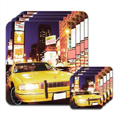 yellow-taxi-cab-in-new-yorks-times-square-usa-set-of-4-placemat-coasters-by-fancy-a-snuggle