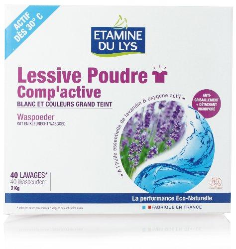 Etamine Du Lys Linge Lessive Poudre Comp'Active 2 kg