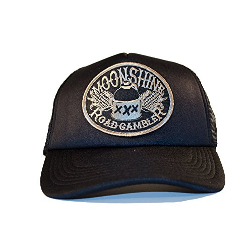 ROAD RODEO Trucker Cap, Baseball Cap, Schirmmütze, Kappe, Verstellbar, Moonshine Patch -