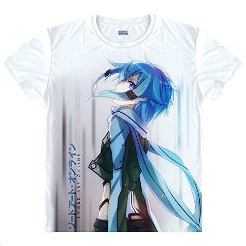 Sword Art Online Sachi T-Shirt Kostüm (Online Kostüme Cosplay)