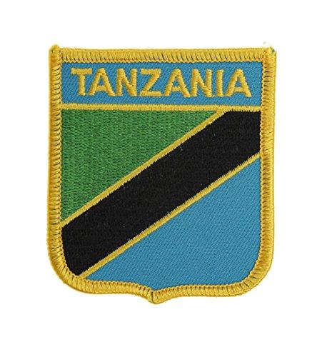Yantec Wappenpatch Tansania Aufnäher - Tansania Patch