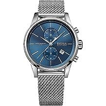 Hugo Boss Black Hombre Reloj analógico cuarzo acero inoxidable plata hb1513441