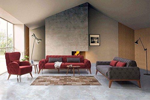 Tugra Sofa Couch 3 Sitzer in zwei Farben erhältlich