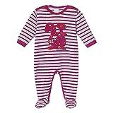 Schiesser Baby - Mädchen Strampler, Gr. 74, Rot (Beere 512)