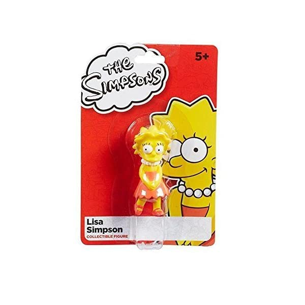 The Simpsons 7cm Lisa Simpson Collectible Figure by Character Options 1
