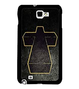 Fuson Designer Back Case Cover for Samsung Galaxy Note N7000 :: Samsung Galaxy Note I9220 :: Samsung Galaxy Note 1 :: Samsung Galaxy Note Gt-N7000 (Jesus Cross Jesus Cross Pendant Chain)