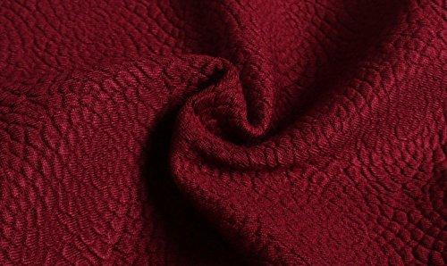 Helan Damen reine Farbe Bodycone mittlerer Lange Knitting Fischschwanz-Rock Schwarz