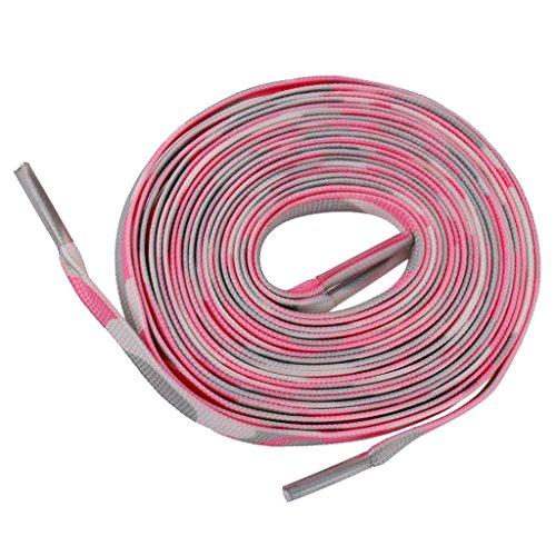 Lacets Elastiques Cordes 1.8m pour Chaussure Roller