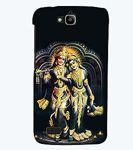 printtech Radhe Krishna Back Case Cover for Huawei Honor Holly