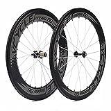 VCYCLE Nopea 700C Rennrad Carbon Laufradsatz in Fahrrad Laufrad Drahtreifen Vorne 60mm hinten 88mm Shimano oder Sram 8/9/10/11 Speed
