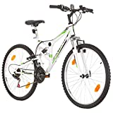 26 Zoll CoollooK EXTREME Fahrrad Fully Full...