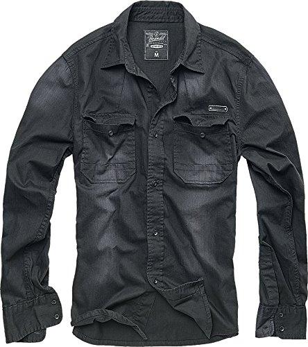 Brandit Hardee Camisa Negro M