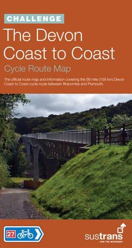 The Devon Coast to Coast Cycle Route Map (Sustrans Challenge Series) por Sustrans