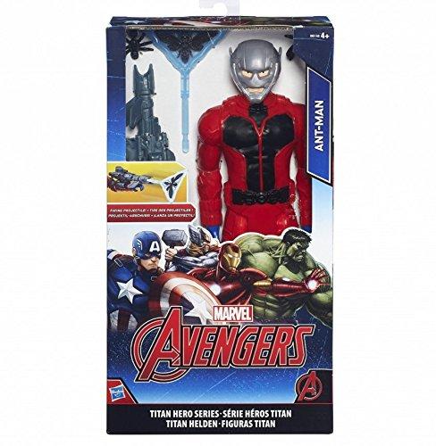 HASBRO Marvel Avengers Personaggi 30cm.Deluxe Ant Man B5773 B6148