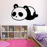 HNXDP Sleeping Panda Wandaufkleber Kinderzimmer Dekor Pvc Abnehmbare Tier Tattoo Tapete Kinderzimmer...