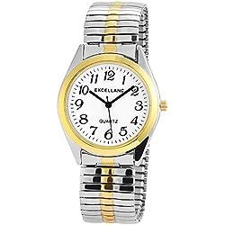 Excellanc Men's Quartz Watch 270012000012 with Metal Strap