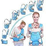 9a9208ea64 Marsupio Bambino Neonato Ergonomico in Cotone Marsupio Porta Bebè Morbido  Frontale da 0 Mesi a 3