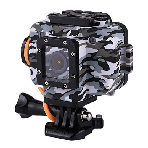 LJYA 1080P 1,5-Zoll-HD-LCD-Bildschirm Sport-Action-Kamera, wasserdicht bis zu 20 m, Unterstützung WiFi-Modul APP-Steuerung und externes MIC & Starlight Night Vision - Dvr Mit Wifi-sicherheits-kameras