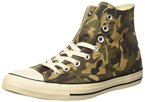 Converse Herren Ctas Hi Sneakers, Grün (Fatigue Green/Natural/Egret), 44 EU