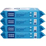 Mee Mee Caring Baby Wet Wipes With Aloe Vera (72 Pcs) (4 Pack)