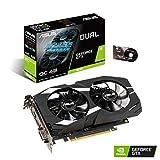 ASUS GeForce GTX 1650 Overclocked 4GB Dual-Fan Edition VR Ready HDMI DP 1.4