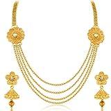 Sukkhi Marvellous Jalebi 4 String Gold P...