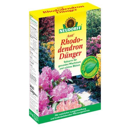 Neudorff azet engrais pour rhododendron, 2,5kg