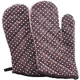 Guantes de aislamiento de alta calidad, guantes de aislamiento térmico, hermosos guantes de hornear
