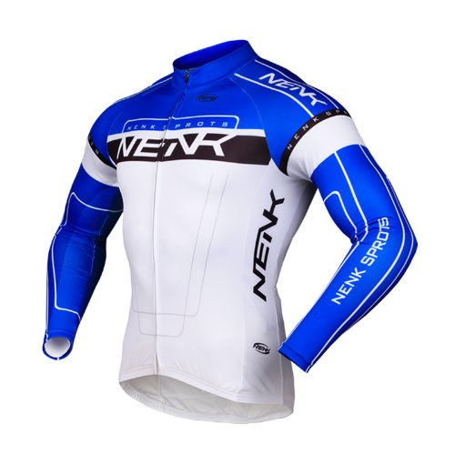 sobike-nenk-ciclismo-maillot-mangas-largas-cooree-2-colores-azul-xl