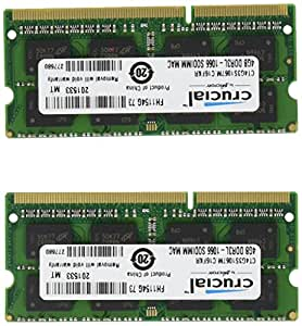 Ram memory upgrades 8GB kit (4GBx2) DDR3 PC3 8500 1067MHz for your 2009 / 2010 Apple Macbook Pro & iMac