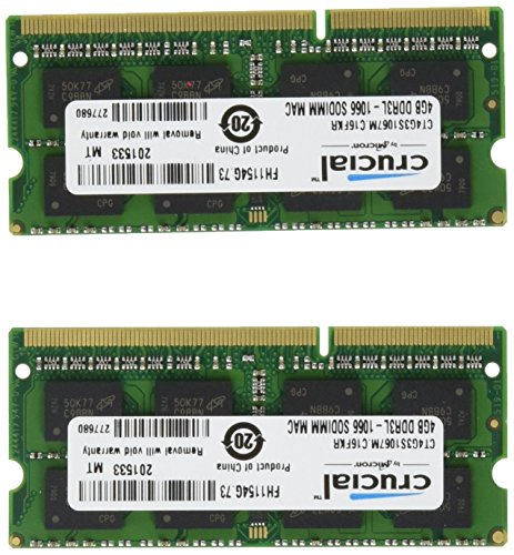 Ram memory upgrades 8GB kit (4GB...