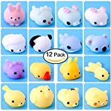 Squishy Kawaii Mini Squishies 12er Pack Antistressball Knetball Squishy Mesh Ball Bild