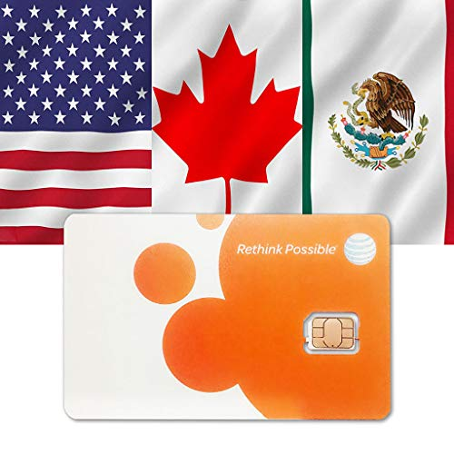 AT&T Prepaid-SIM USA Kanada Mexiko